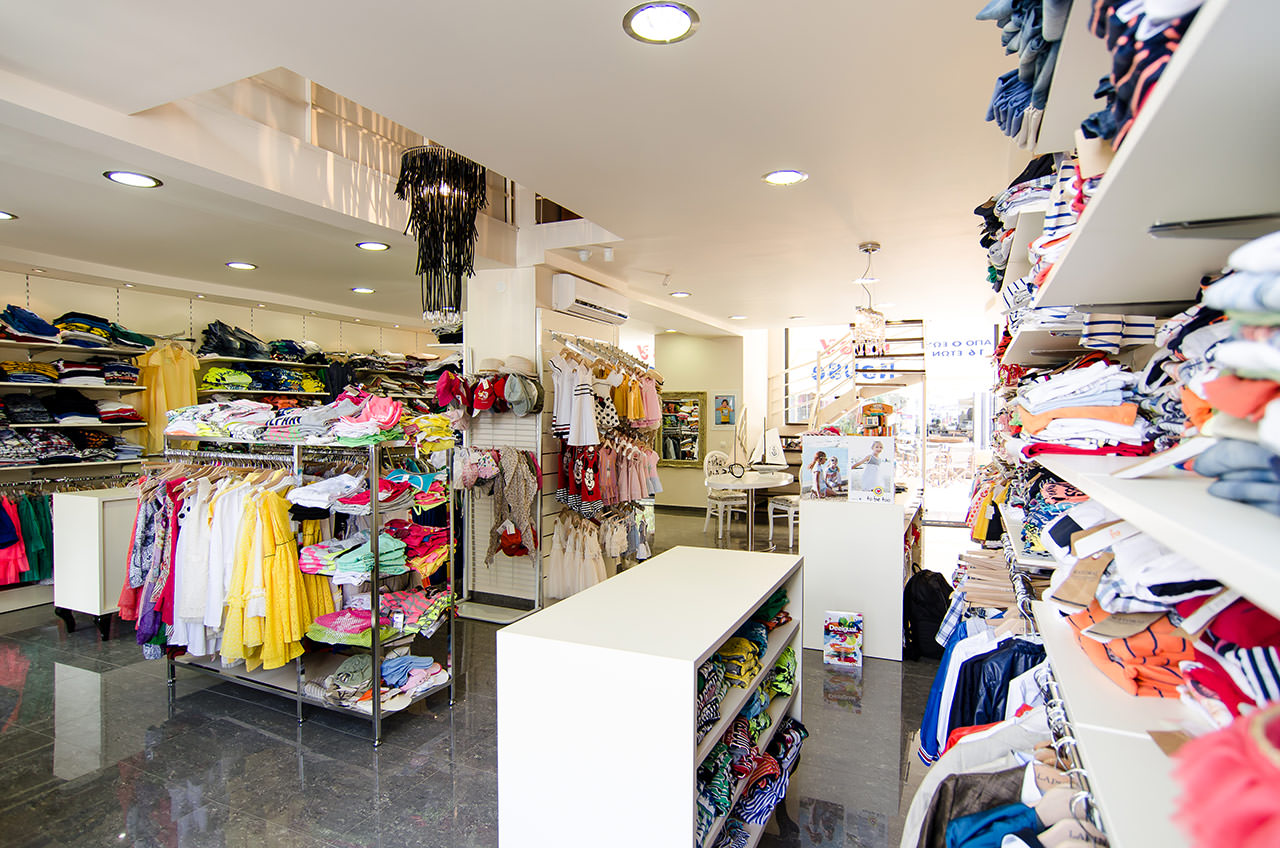 Urban wear clothing store. Women clothing stores