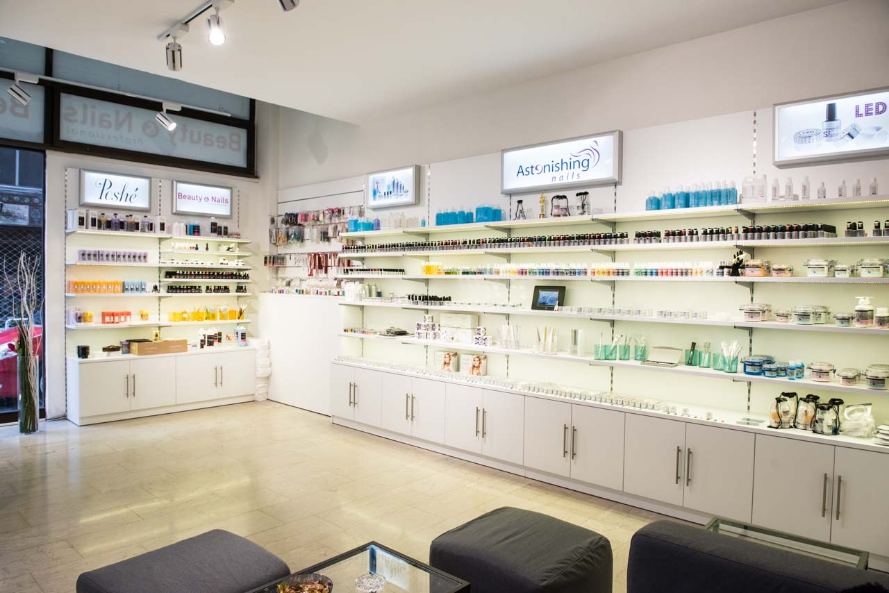 Store Design Beauty Nails Savopoulos Shop Fitting